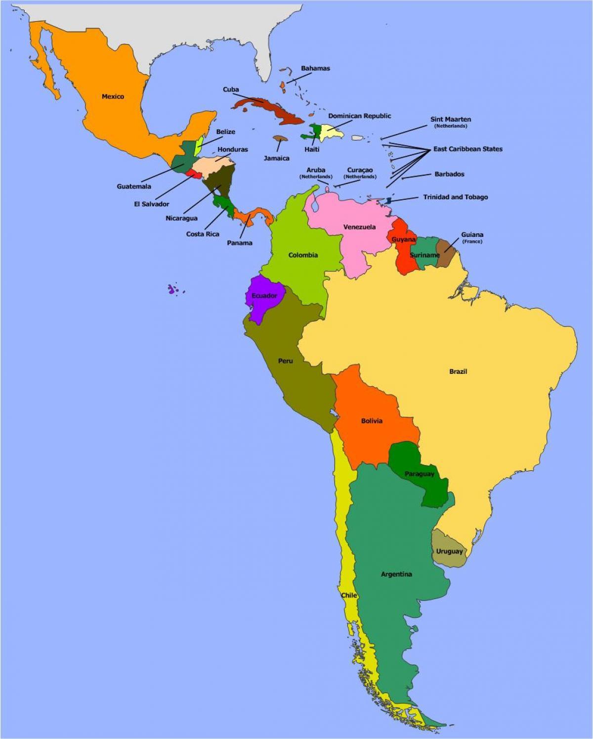 بليز أمريكا الجنوبية خريطة خريطة بليز أمريكا الجنوبية أمريكا
